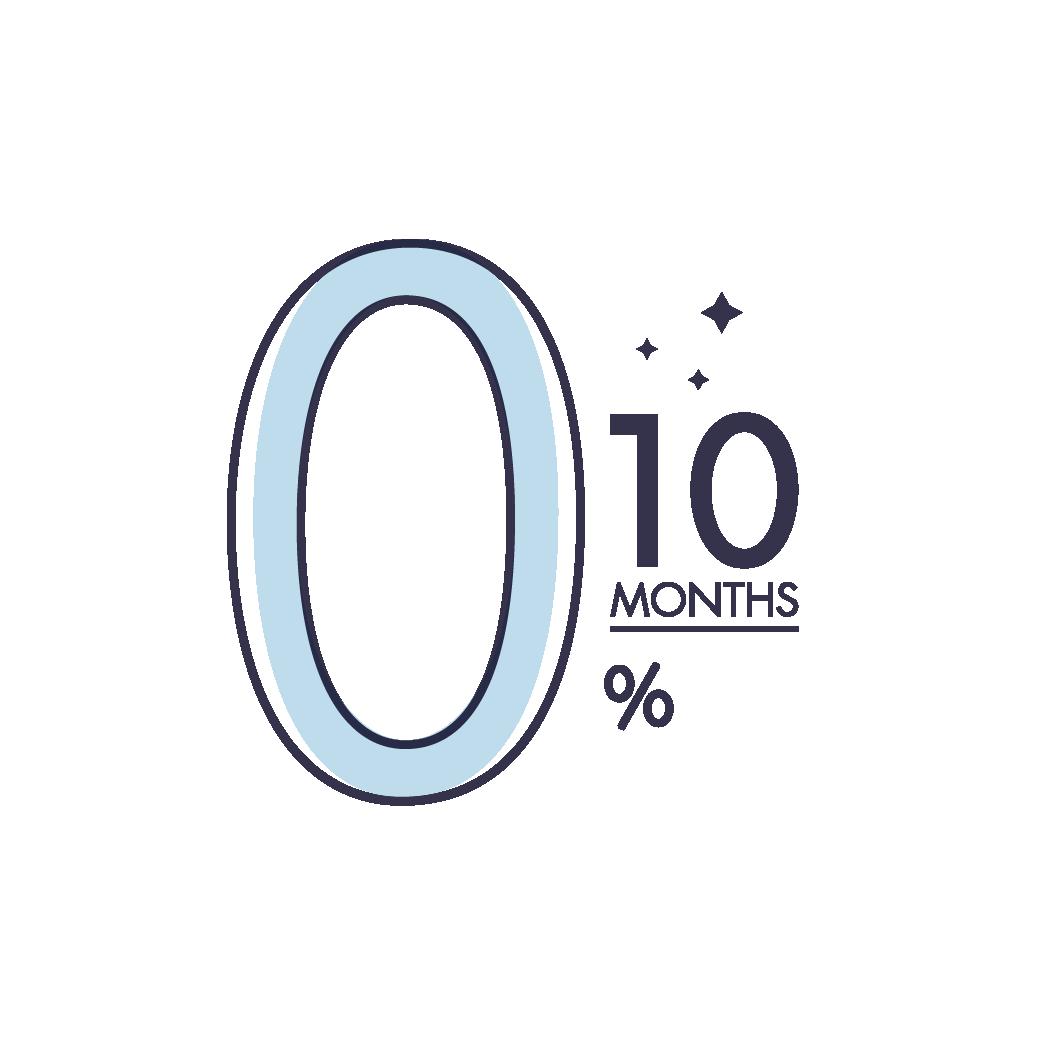 ที่นอนผ่อนบัตรเครดิต 0% นาน 10 เดือน เพียงซื้อ ที่นอนยางพาราแท้ Lunio